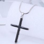 Cross Copper Necklace